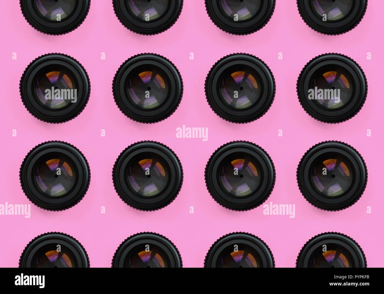 Pretty pink aperture