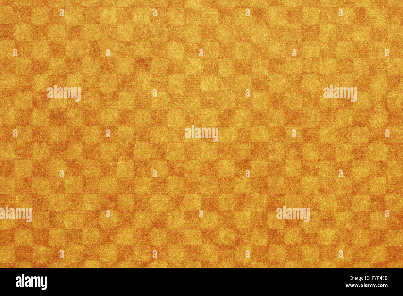 Japanese new year brown checkered pattern paper texture background Stock Photo