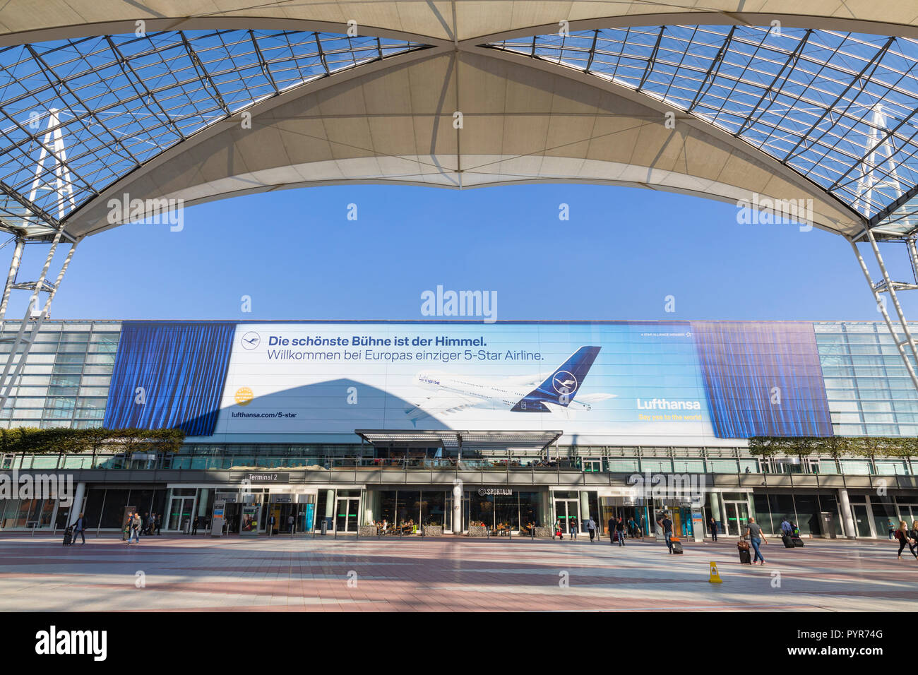 Munich Munchen International Airport In Munich Germany