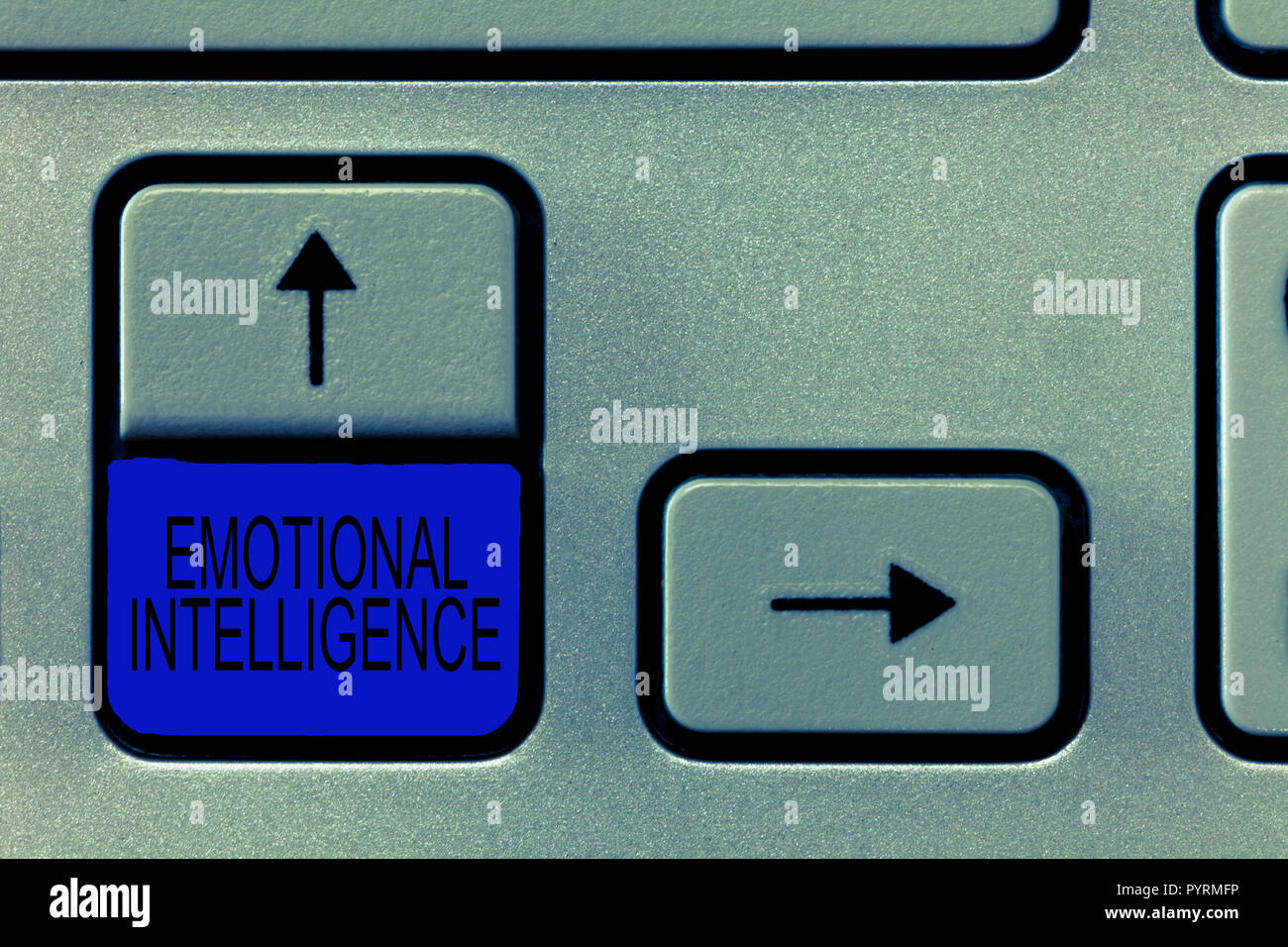 Word writing text Emotional Intelligence. Business concept for Self and Social Awareness Handle relationships well. - Stock Image