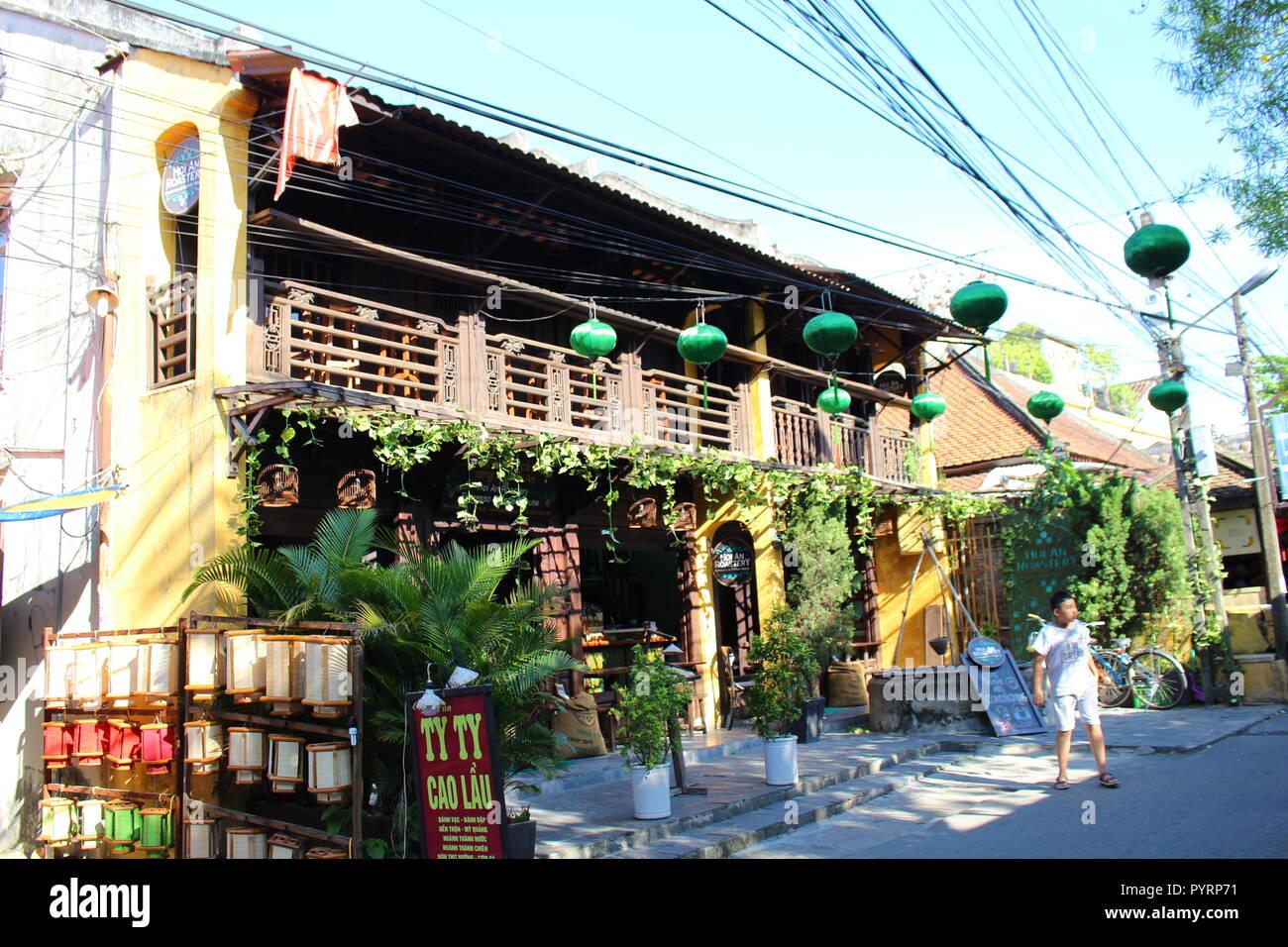 HOI AN COFFEE BAR DA NANG VIET NAM - Stock Image