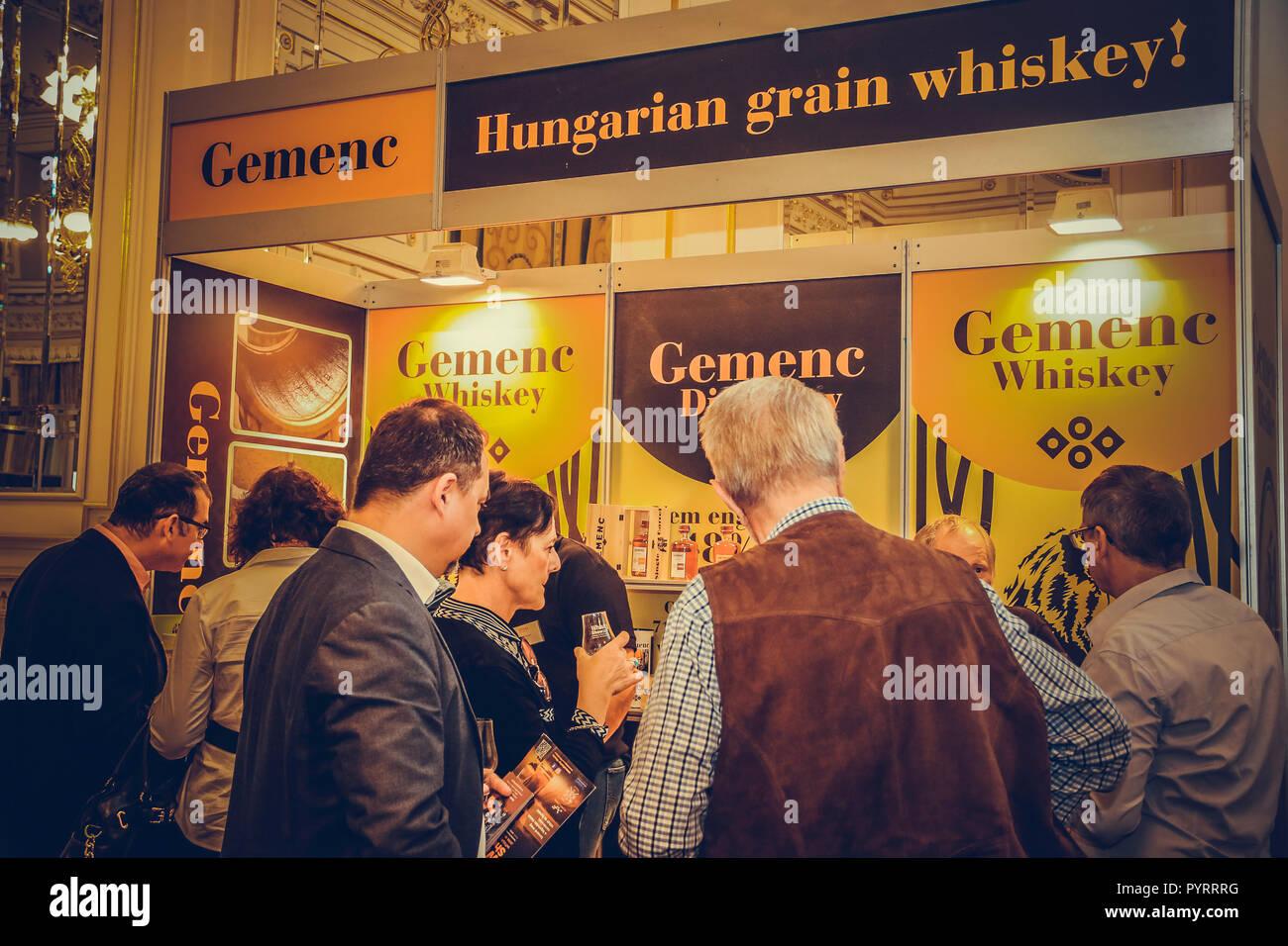 Whisky Show 2018  Corinthia Hotel Budapest, Hungary October 28, 2018