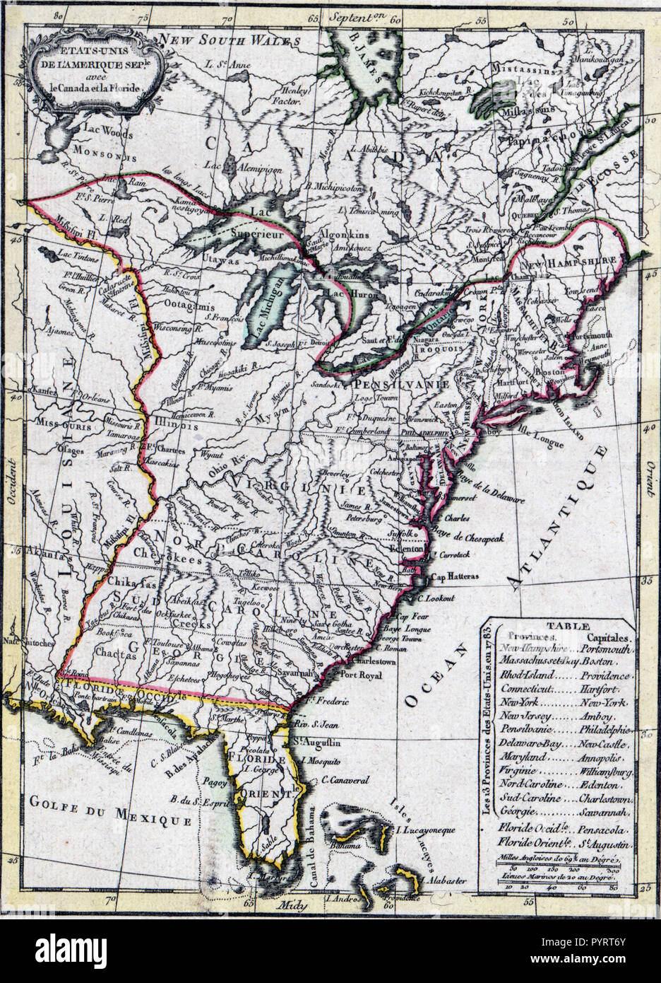 Vintage Maps Antique Maps United States Of America Map Ca 1780s