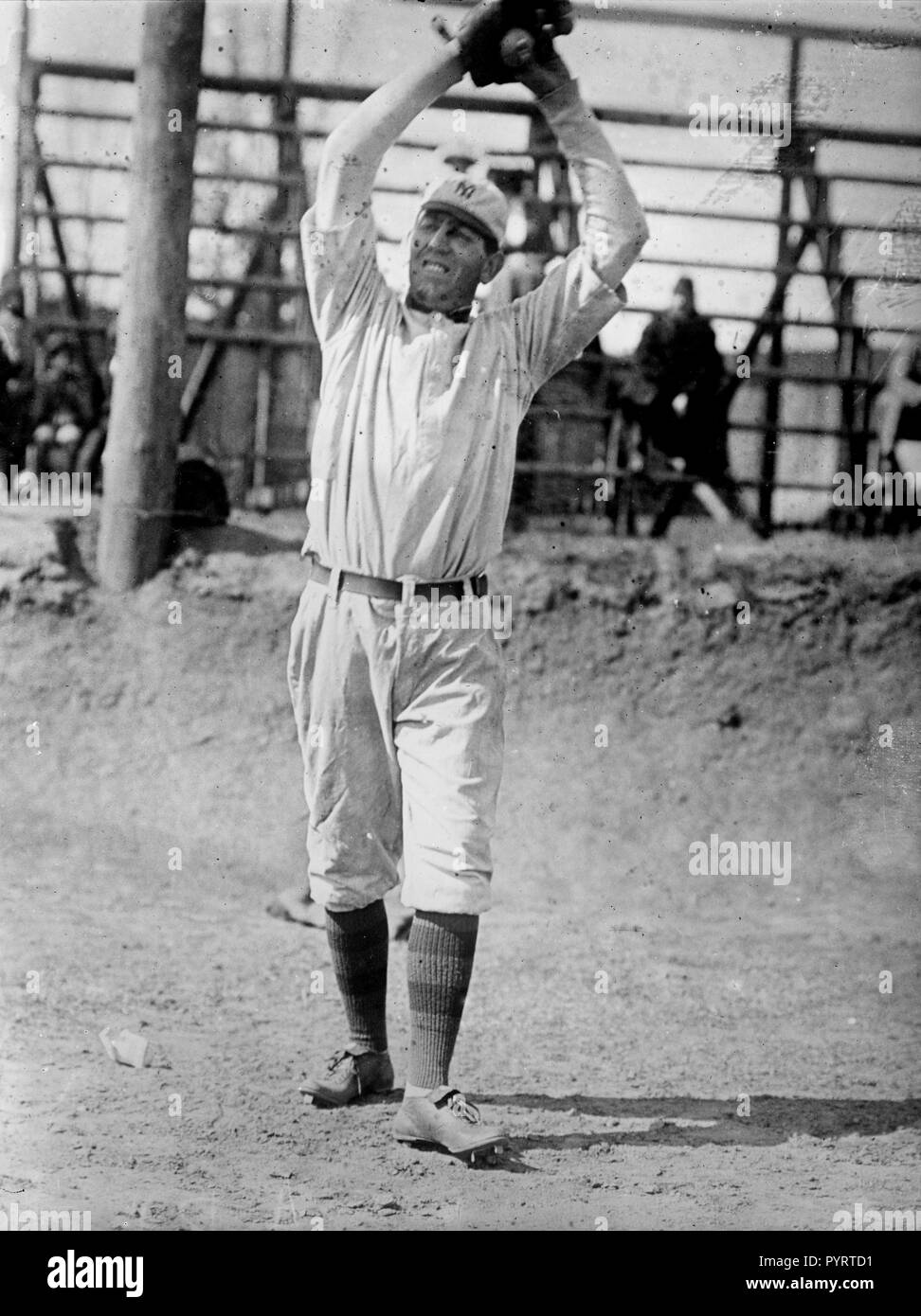 Harry Ables, New York, AL (baseball) ca. 1911 - Stock Image