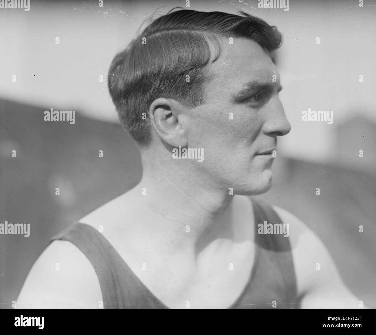 Freddie Welsh (1886-1927) Lightweight Champion of the World, known as the 'Welsh Wizard' born in Pontypridd, South Wales, United Kingdom Stock Photo