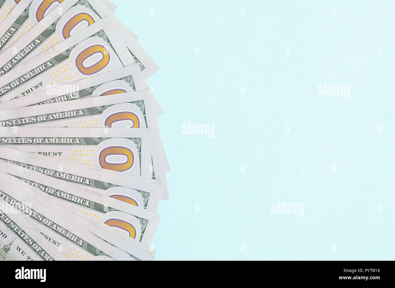 A Fan Of One Dollar Bills Stock Photos & A Fan Of One Dollar
