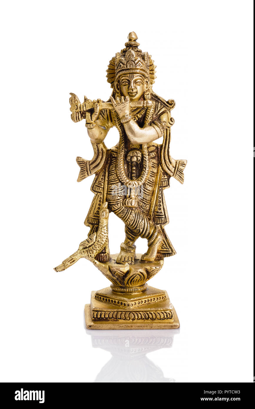 Krishna Statue High Resolution Stock Photography And Images Alamy