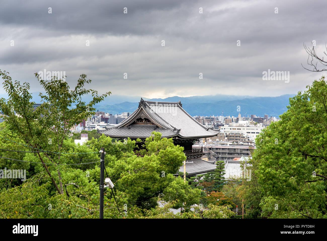 Kyoto city Stock Photo