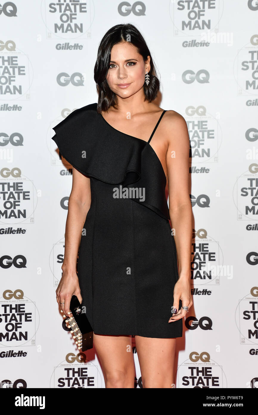 London, UK. 29th October, 2018. Lilah Parsons Arrivers at GQ 30th Anniversary celebration at Sushisamba, The Market, Convent Garden on 29 October 2018. Credit: Picture Capital/Alamy Live News - Stock Image