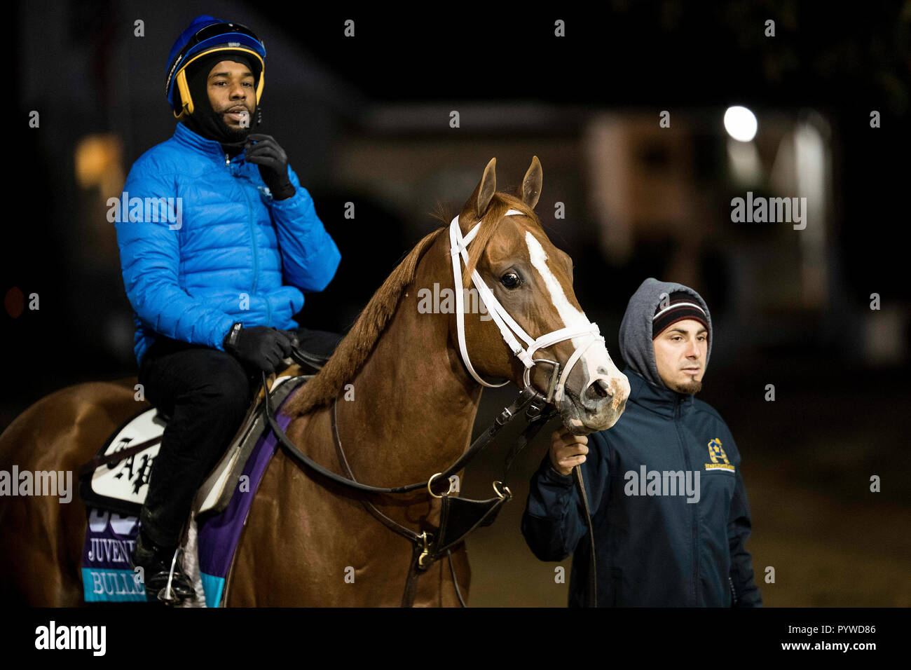 October 29 2018 Bulletin Trained By Todd A Pletcher Exercises In Preparation For The Breeders Cup Juvenile Turf Sprint At Churchill Downs On