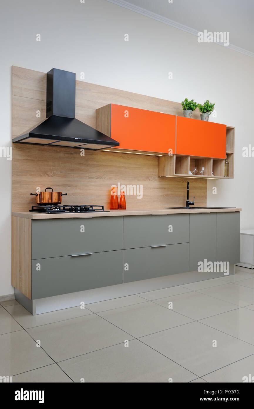 Luxury Modern Kitchen Stock Photo 223697361 Alamy