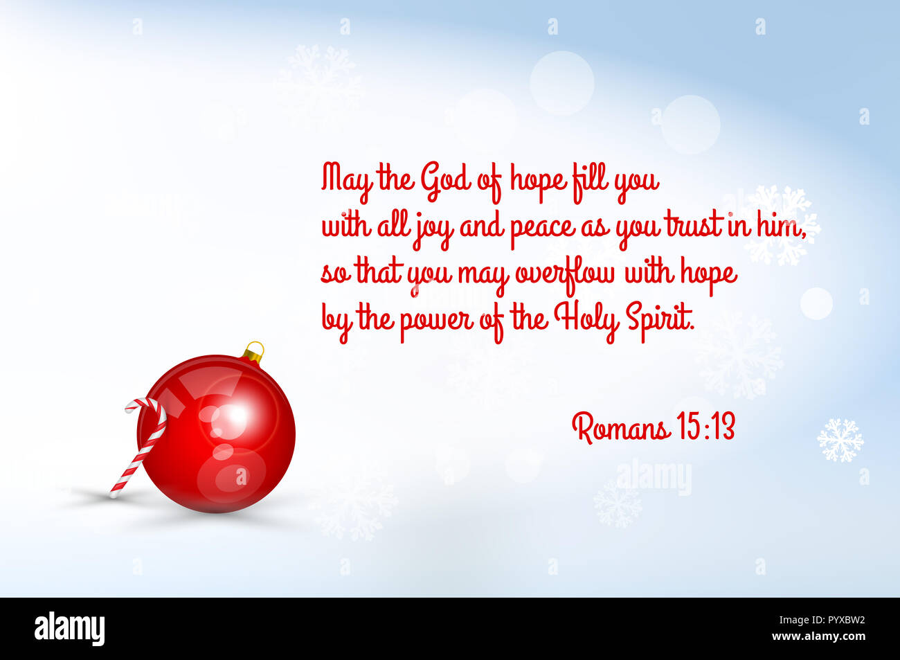 Christmas Greeting Card Template. Quote from Holy Bible. Merry ...