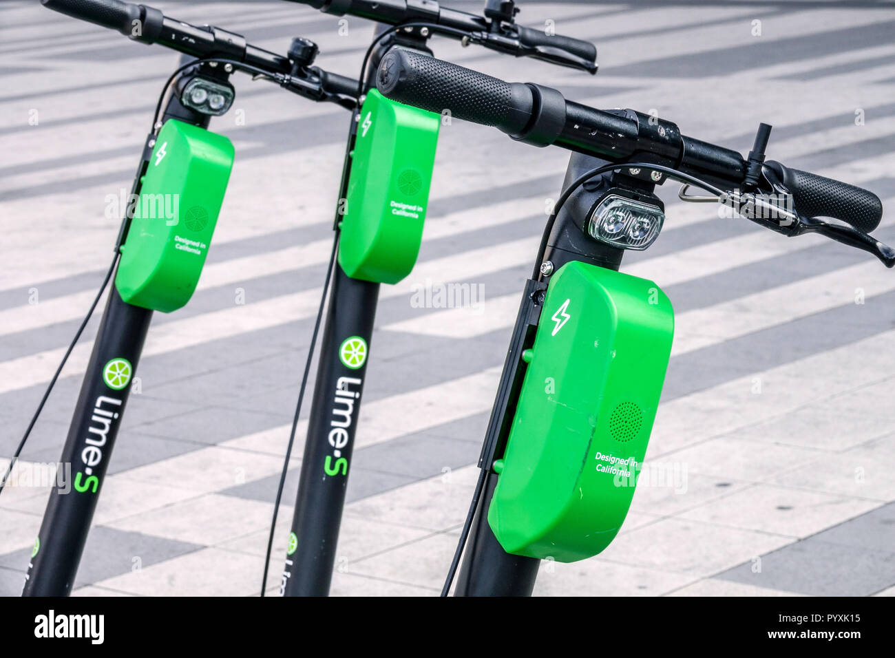 lime s electric scooter stock photos lime s electric. Black Bedroom Furniture Sets. Home Design Ideas