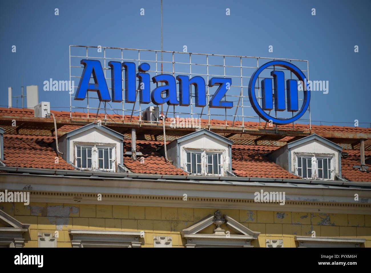 Alliance, Bulevard Knyaginya Maria Luiza, Sofia, Bulgaria, Allianz, Bulgarien Stock Photo