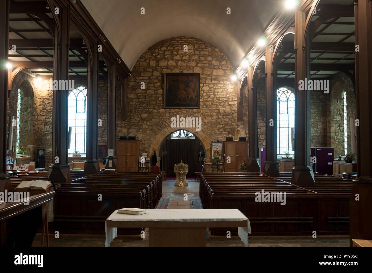 St. Peter and St. Paul`s Church, Weedon, Northamptonshire, England, UK - Stock Image
