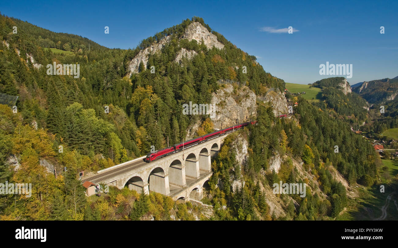 Semmering Railway Stock Photos Semmering Railway Stock Images Alamy
