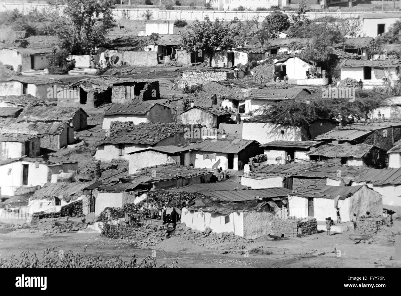 slums, union carbide gas leak tragedy, Bhopal, madhya pradesh, India, Asia - Stock Image