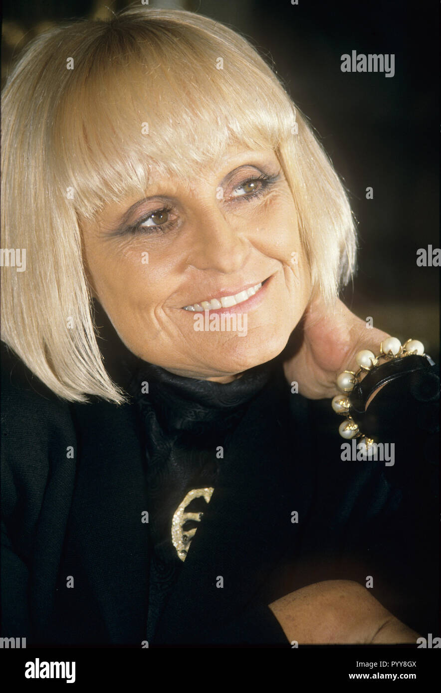 BARBARA HULANICKI Polish fashion designer and founder of Biba, about 1965 - Stock Image