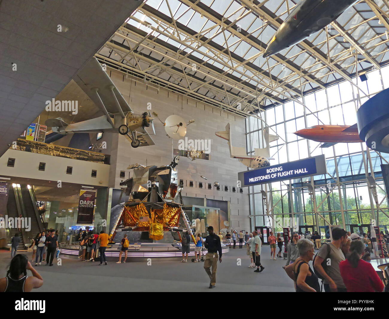 Smithsonian Air Space Museum Charles Stock Photos ...