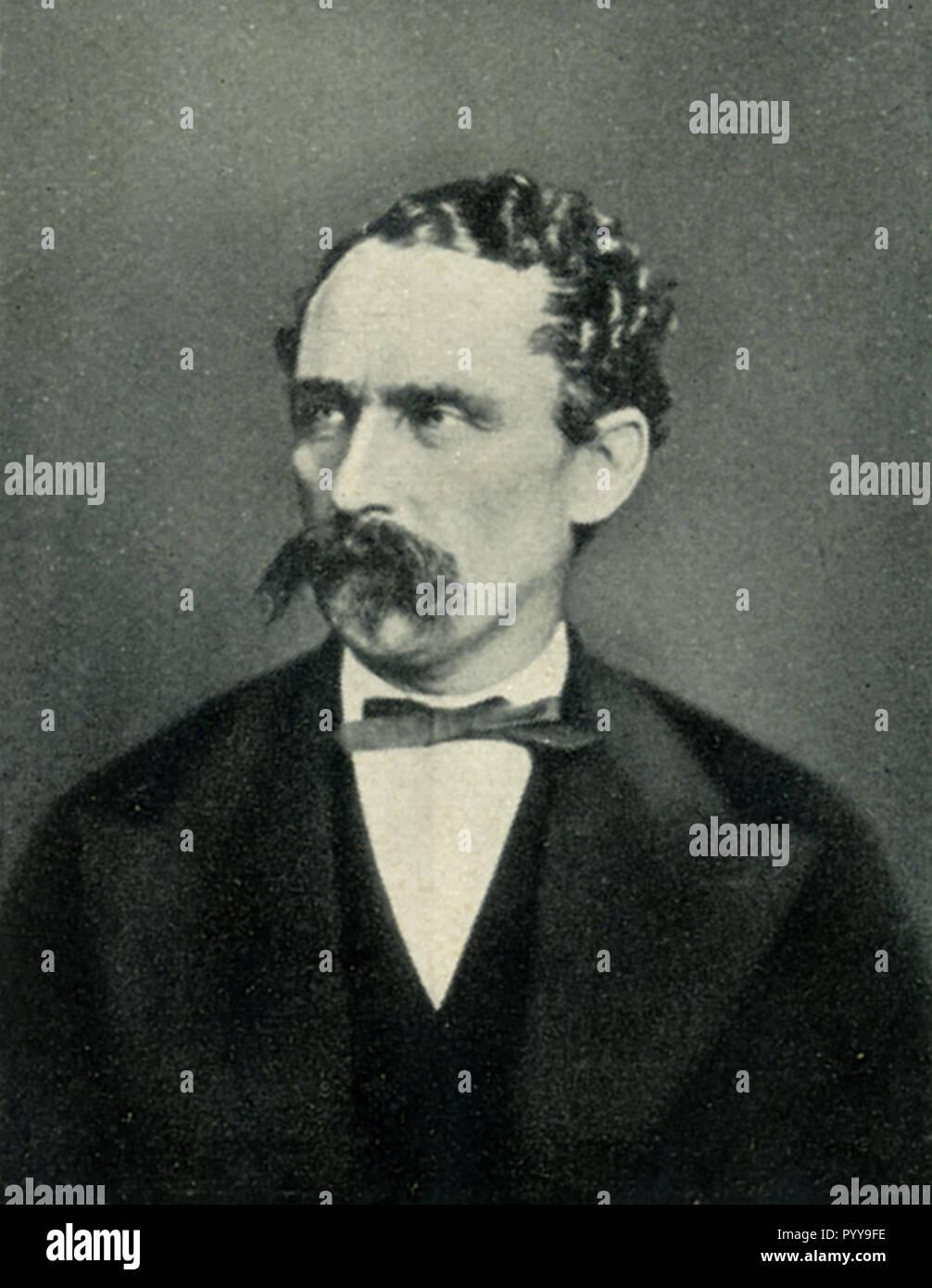 Nachtigal, Gustav (1834-1885), German explorer of Africa,   1936 - Stock Image