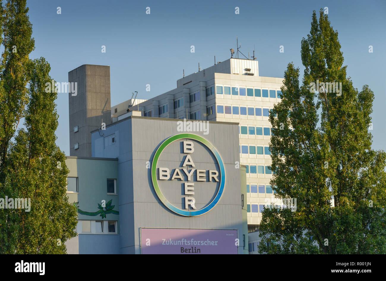 Bavarian, Pharma, Müllerstrasse, Wedding, middle, Berlin, Germany, Bayer, Muellerstrasse, Mitte, Deutschland Stock Photo
