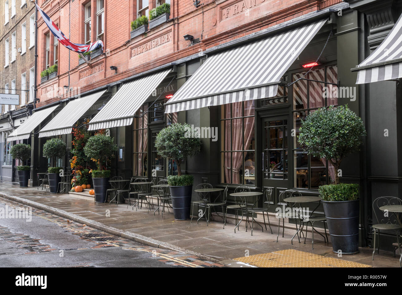 Frontage, Covent Garden Hotel, Monmouth Street, Seven Dials, London - Stock Image