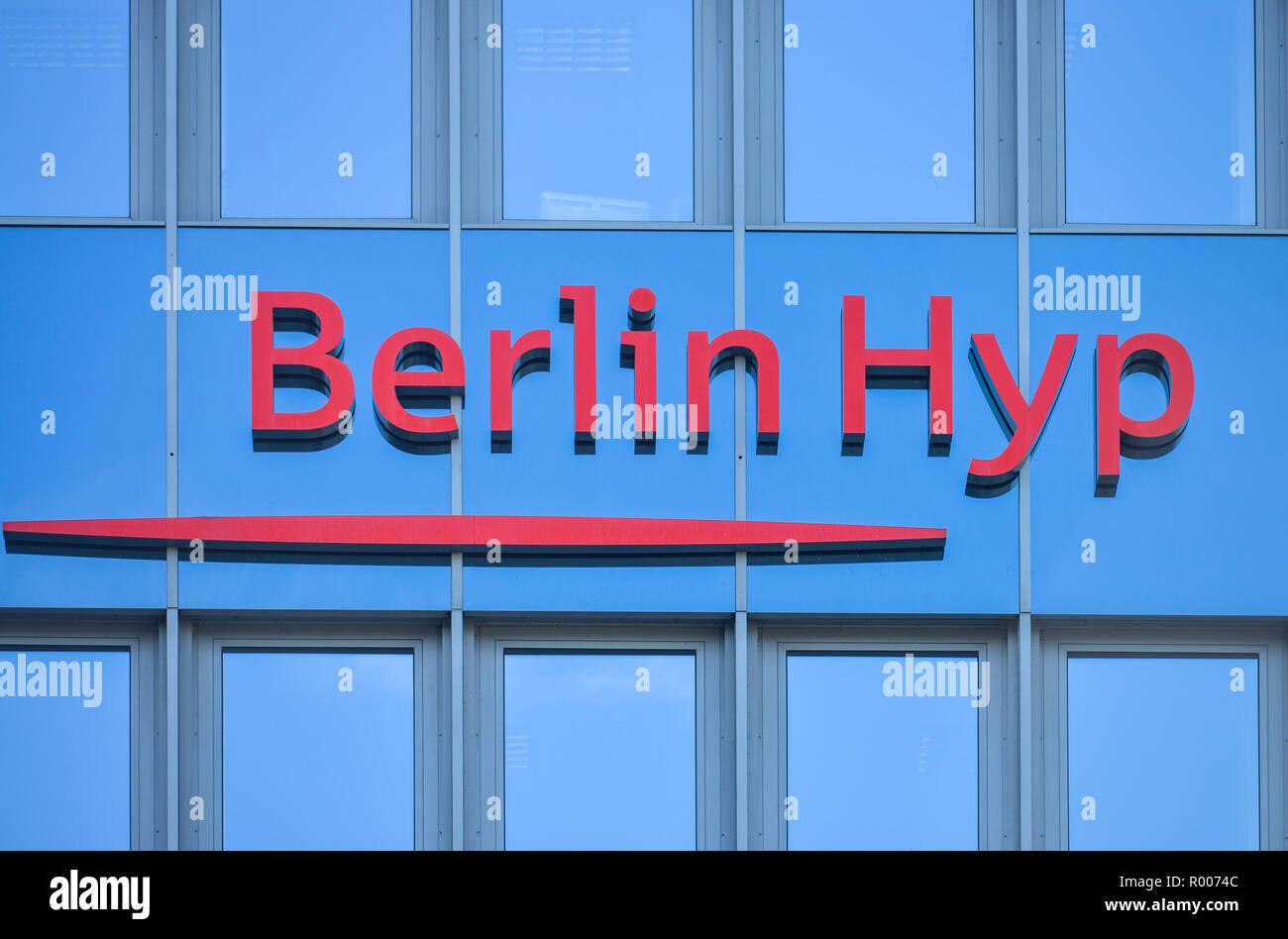 Head office Berlin Hyp, Budapest street, zoo, middle, Berlin, Germany, Hauptsitz der Berlin Hyp, Budapester Strasse, Tiergarten, Mitte, Deutschland Stock Photo