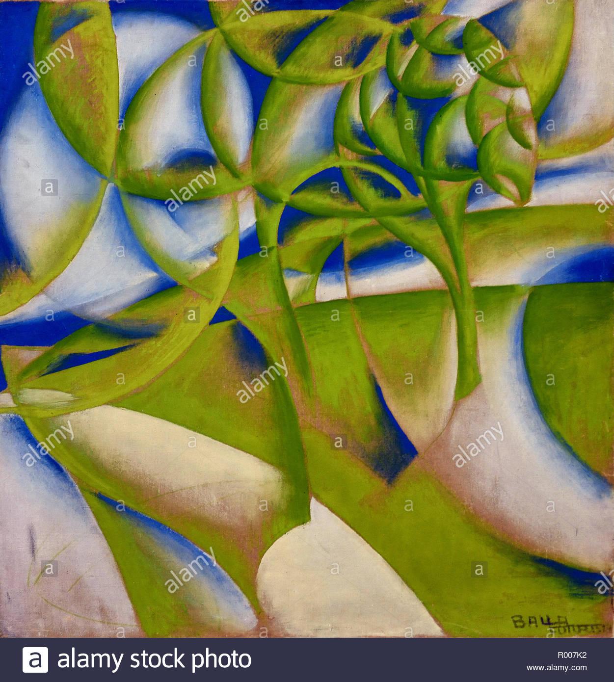 Spring Grown 1918 Giacomo Balla, Italy, Italian. - Stock Image