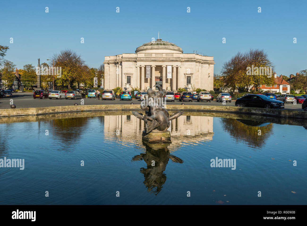 Lady Lever Art Gallery, Port Sunlight, Wirral, Merseyside - Stock Image