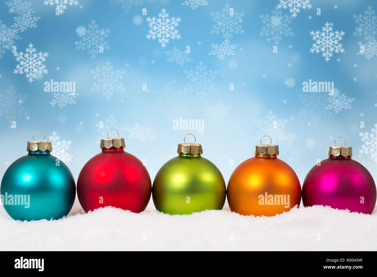 Colorful Christmas Balls.Many Colorful Christmas Balls Baubles Background Decoration