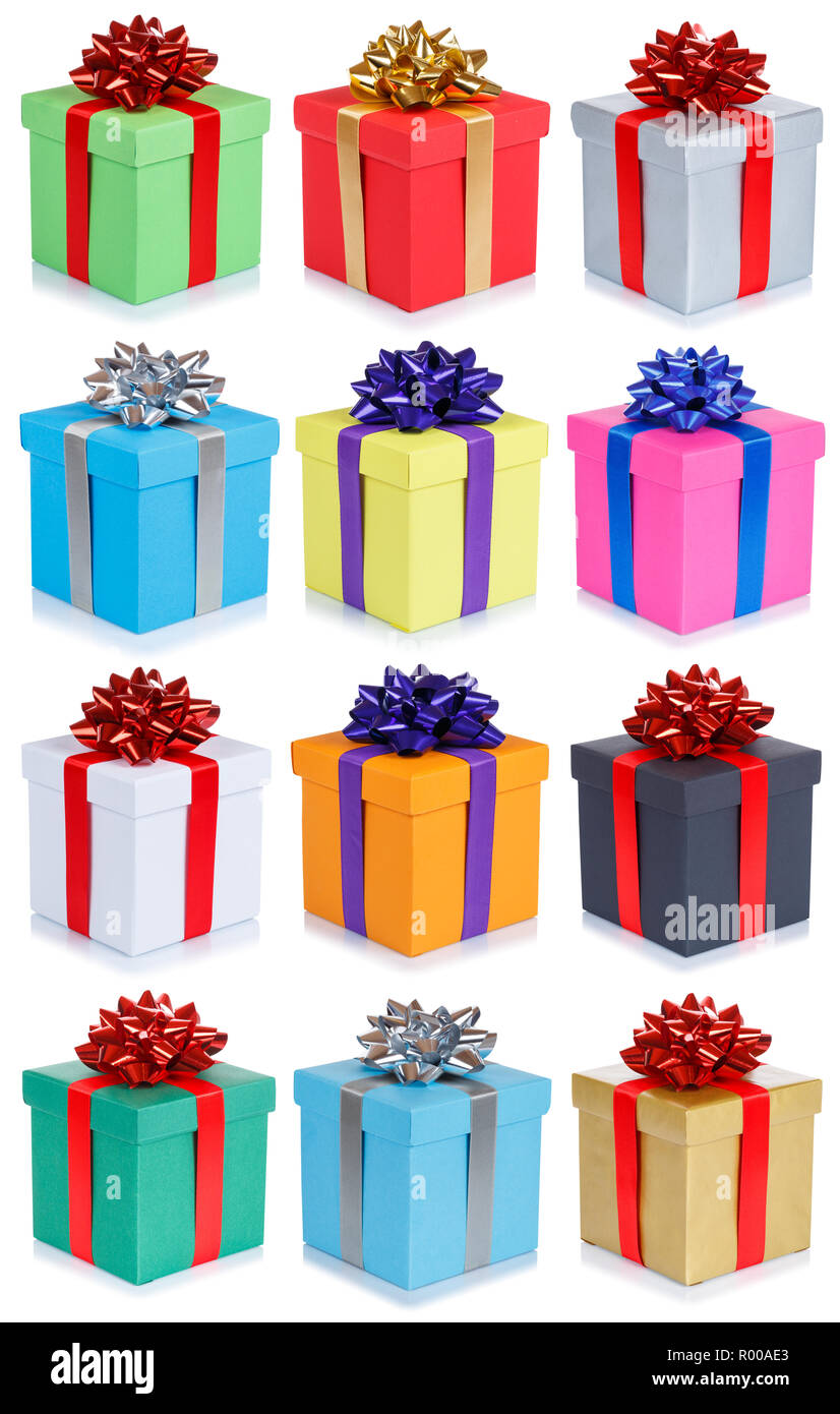 Collection Of Birthday Gifts Christmas Wedding Presents Portrait