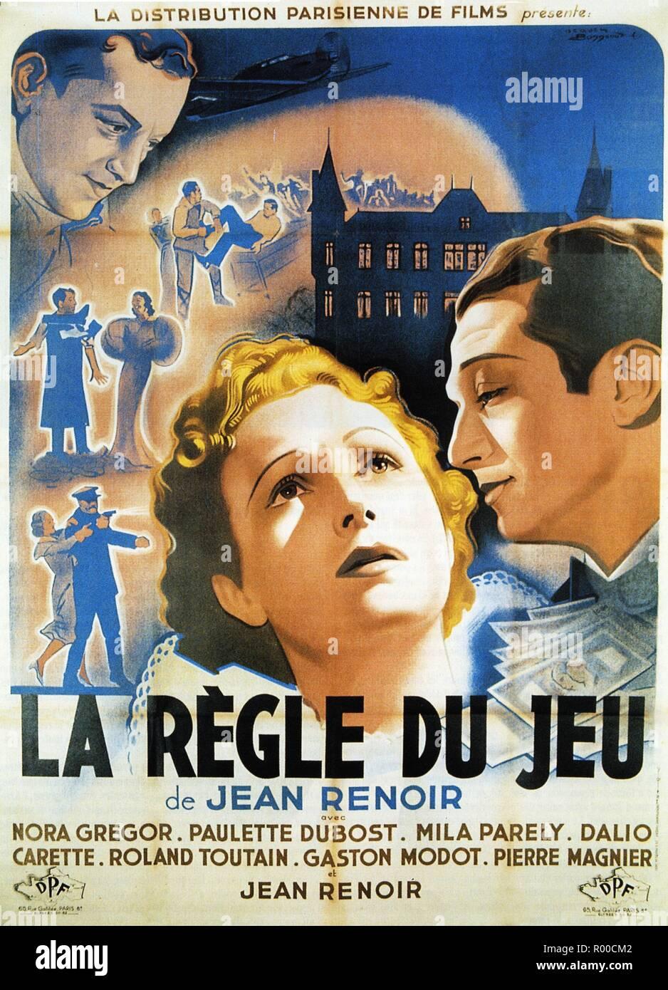 La R\u00e8gle Du Jeu Poster