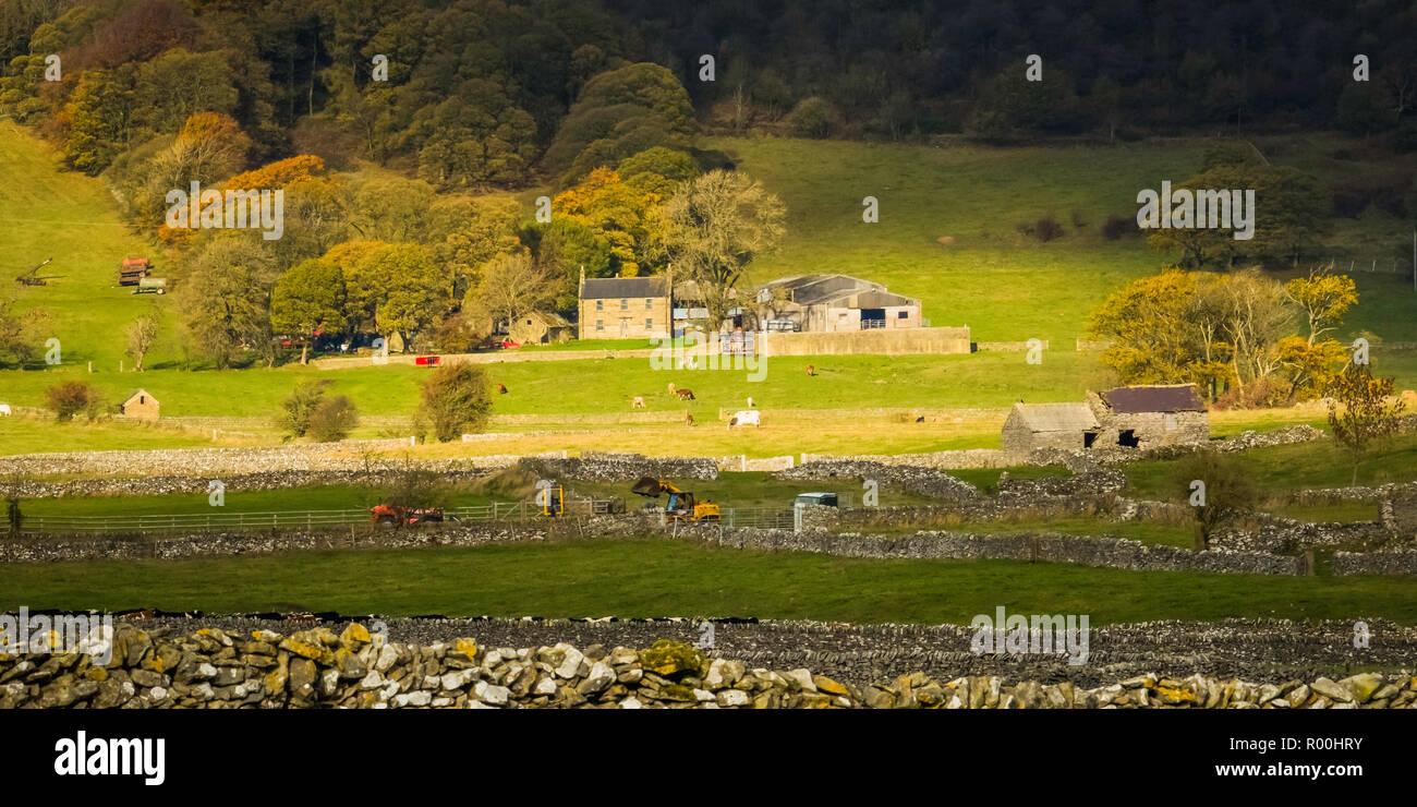 Peak District Farm Stock Photos & Peak District Farm Stock