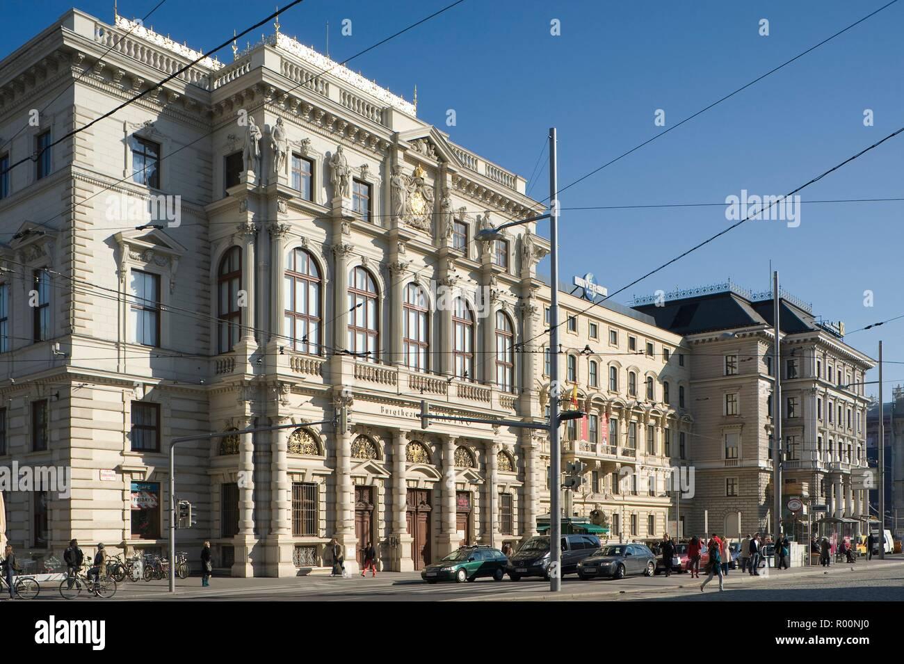 Wien Schwarzenbergplatz Palais Ludwig Viktor Architekt Heinrich