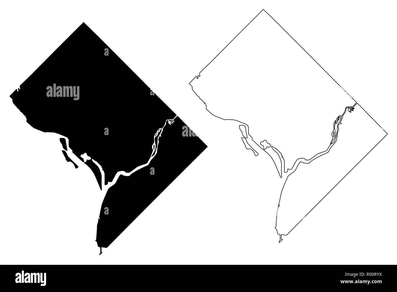 Map Of United States Washington Dc.Washington City United States Cities United States Of America