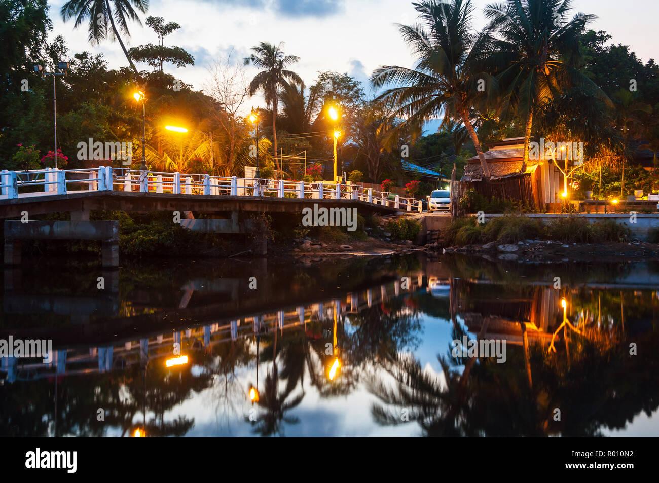 Summer Resort At Ko Samui Thailand Little Bungalow Hidden