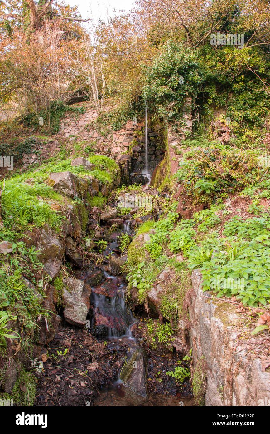 Petit Bot Waterfall - Stock Image