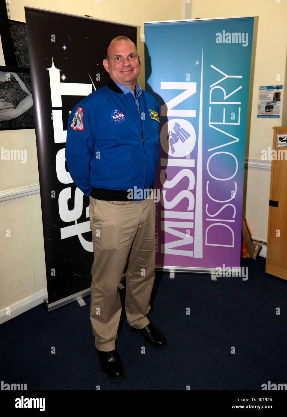 Tony Antonelli, retired NASA astronaut, at The International Space School Educational Trust's  Mission Discovery Program, Kings College, London - Stock Image