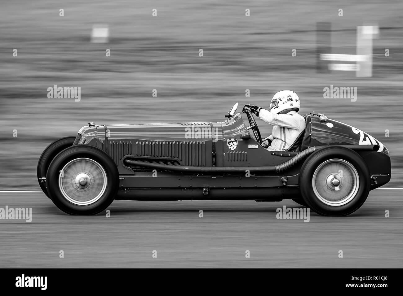 1934 Maserati 8CM  Driver Patrick Blakeney-Edwards - Stock Image
