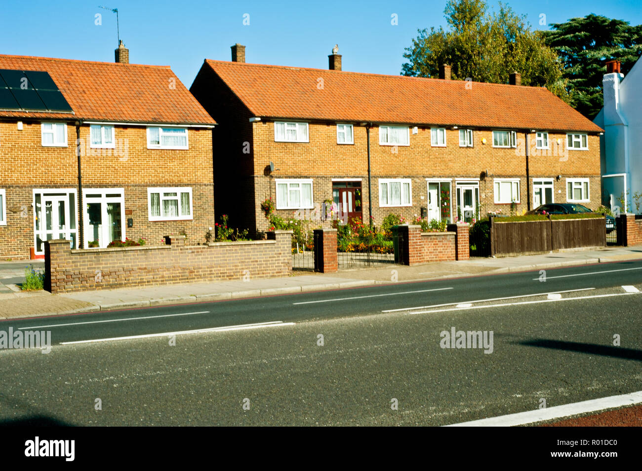 Ex Local Authority Houses, Bromley Road, Catford, Borough of Lewisham, London, England - Stock Image