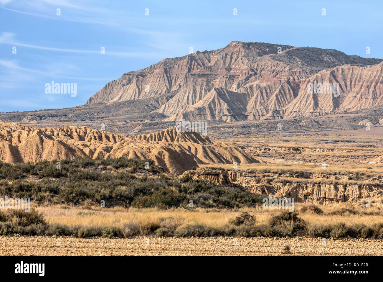 Bardenas Reales, Basque Country, Spain, Europe - Stock Image