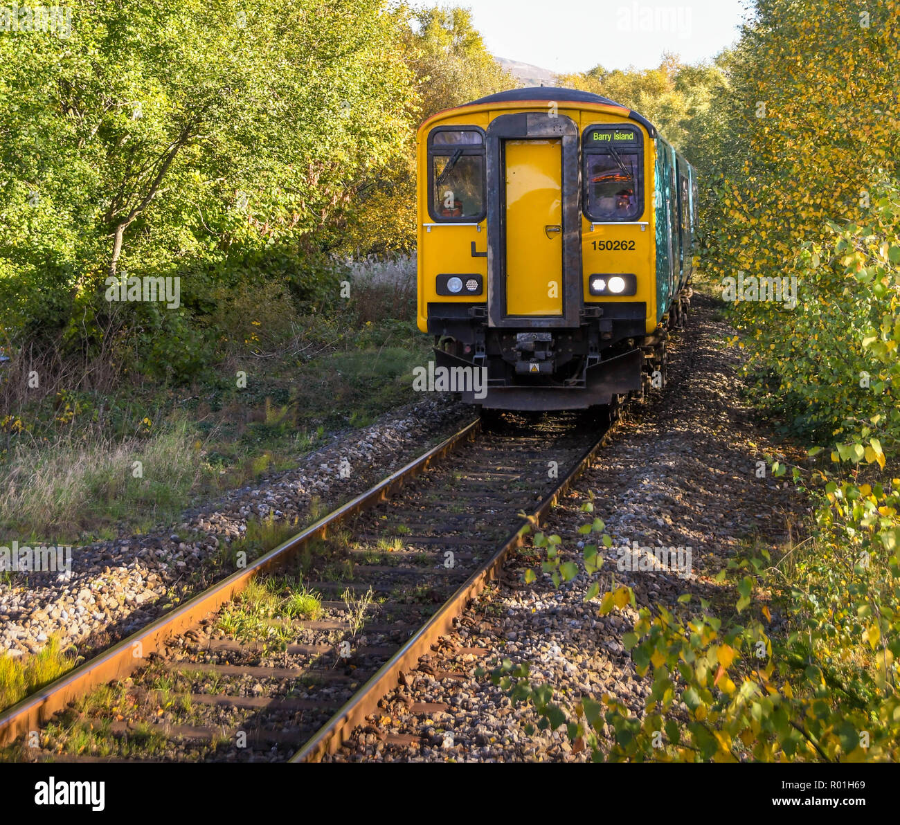 In Abercynon Rhondda Cynon Taf: Valley Lines South Wales Stock Photos & Valley Lines South