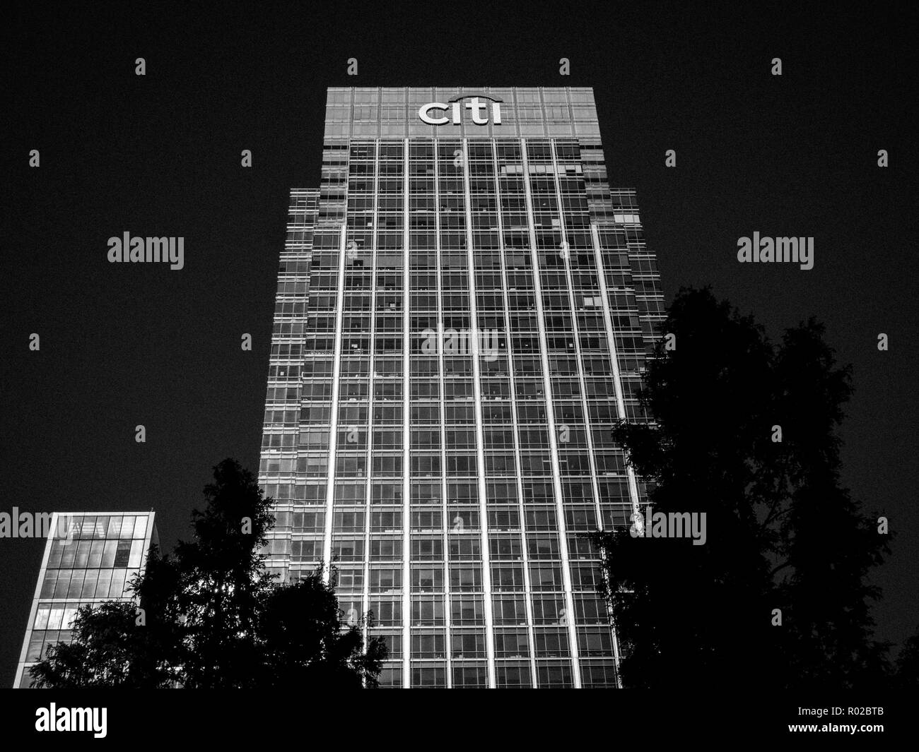Citibank UK Head office Canary Wharf,  Docklands, London, England, UK, GB. - Stock Image