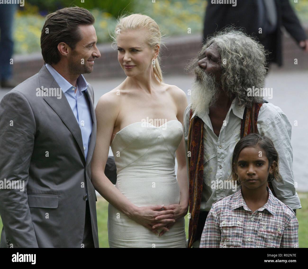 Hugh Jackman Nicole Kidman Brandon Walters And David Gulpilil