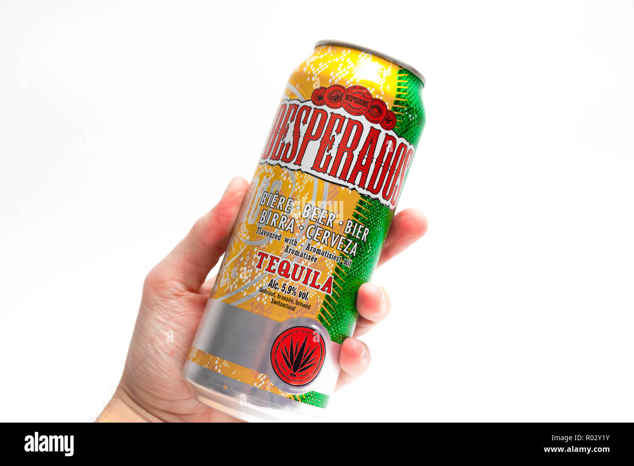 Desperados Tequila Beer High Resolution Stock Photography And Images Alamy