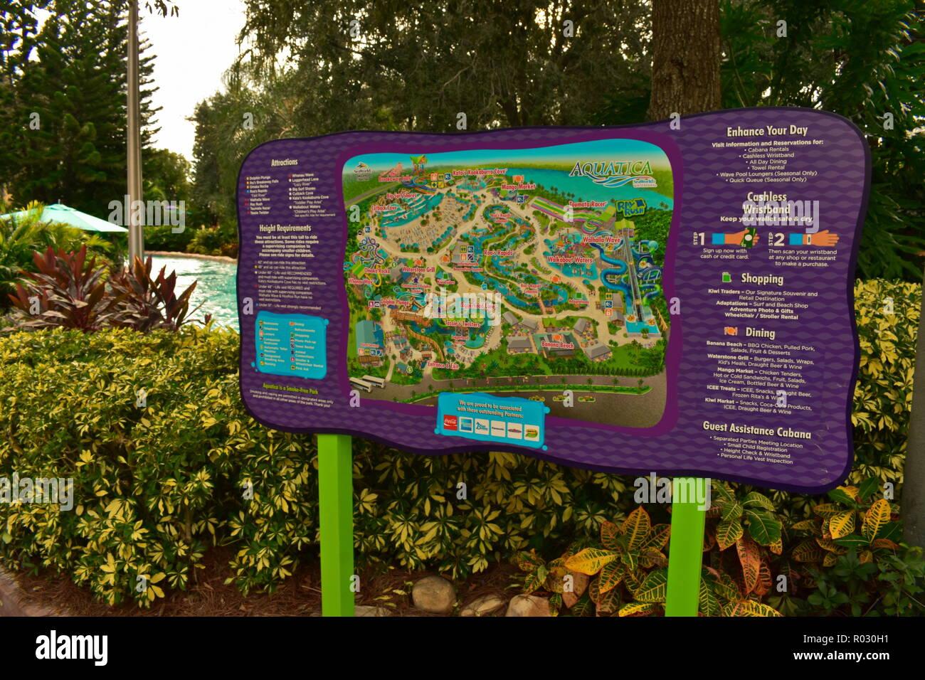 Disney Parks Map on