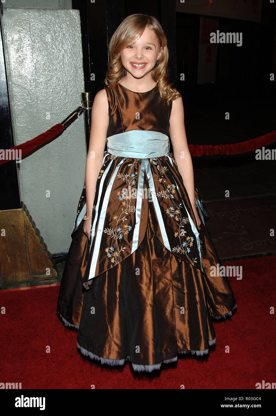 Chloe Grace Moretz Arriving At The Big Momma S House 2 Premiere At