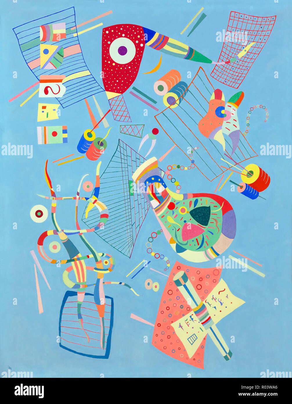 Serenity, Wassily Kandinsky, 1938, Zurich Kunsthaus, Zurich, Switzerland, Europe - Stock Image