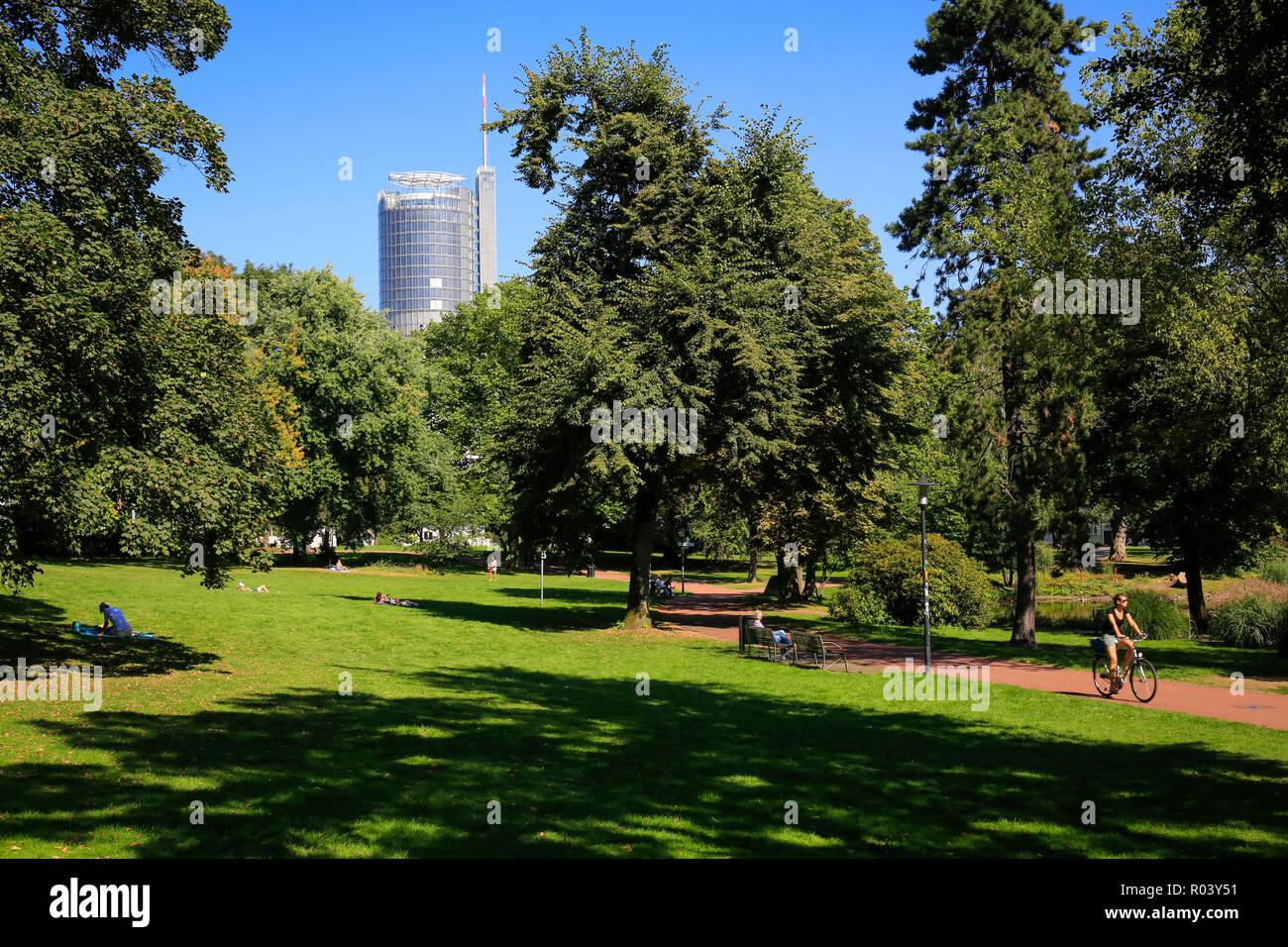 Essen, Germany, Ruhr area, Stadtgarten - Stock Image