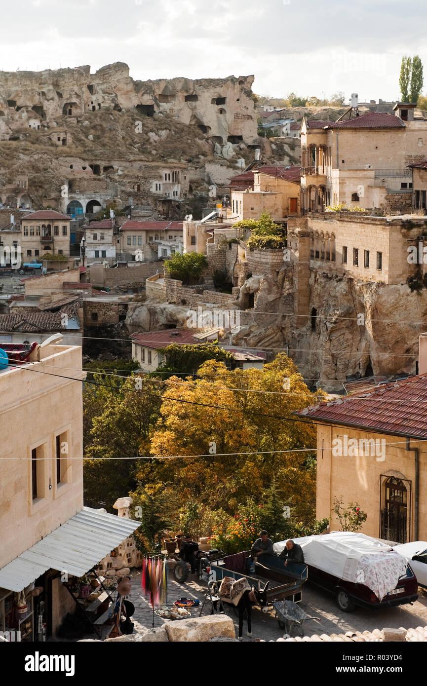 'Cityscape of Urgup, Turkey' - Stock Image